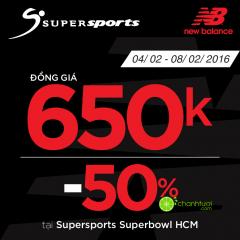 Supersports Super Bowl HCM ưu đãi cuối năm lên tới 50%