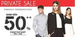 French Connection khuyến mãi Final Sale – giảm giá đến 50%