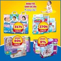 Kids Plaza giảm giá cực sâu các mặt hàng Sữa & Bỉm