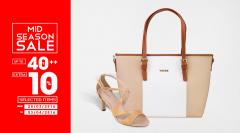 VASCARA ưu đãi Mid Season Sale đến 50% tất cả giày túi