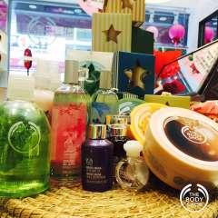 The Body Shop giảm giá 25%, tặng kem dưỡng mừng 8.3