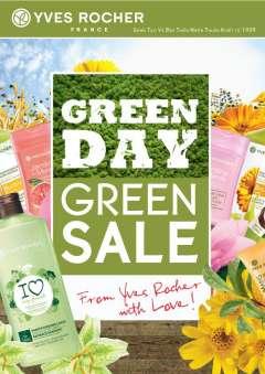 Yves Rocher khuyến mãi Green Sale – giảm giá đến 30% mỹ phẩm