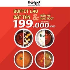 [TPHCM] HOTPOT STORY khuyến mãi đặt bàn – buffet lẩu chỉ từ 199k