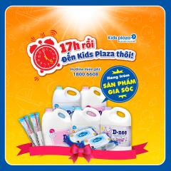 Giá sốc mua sắm từ 17h - 19h tại Kids Plaza