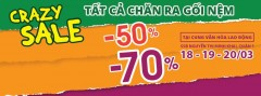 EDENA khuyến mãi giảm giá đến 80% chăn ga gối nệm