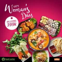 Food Center ưu đãi combo lẩu Happy Women 4 món chỉ 399k