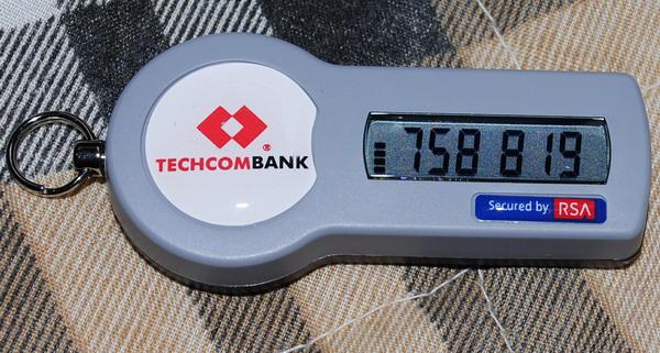 VD: Token Key của Techcombank