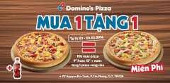 """Khuyến mại mua 1 tặng 1 pizza- """"Megaweek"""" từ Domino's Pizza"""