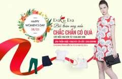 Bốc thăm may mắn 100% trúng quà giá trị tới 1,5 triệu từ  Eva de Eva