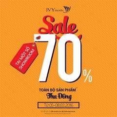 IVY moda giảm giá 70% toàn bộ các thiết kế BST Thu Đông 2015