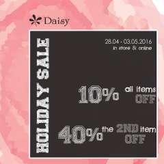 [HÀ NỘI] Thời trang DAISY giảm giá đến 40% mừng lễ 30-04