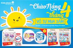 Ưu đãi khủng chào nắng tháng Tư tại Kids Plaza Hồ Chí Minh