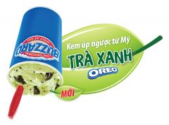 Dairy Queen khuyến mãi Kem Trà Xanh Orea giảm giá còn 29k