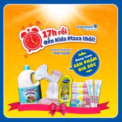 Giá sốc mua sắm từ 17h – 19h tại Kids Plaza