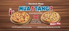 [TPHCM] DOMINO'S PIZZA khuyến mãi Mega Week mua 1 tặng 1