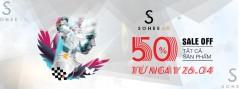 SOHEE giảm giá 50% tất cả sản phẩm BST mới mừng lễ 30-4