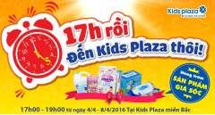 Khuyến mãi khung giờ vàng tại Kids Plaza