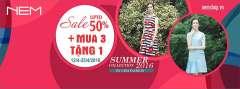 Ra mắt BST Hè 2016 thời trang NEM giảm giá 50% tất cả sản phẩm