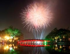 6 điểm bắn pháo hoa mừng dịp lễ 30/04 tại Hà Nội