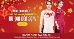 Áo váy thời trang nữ ưu đãi đến 50%, tặng kèm mã giảm giá ngay cho đơn hàng