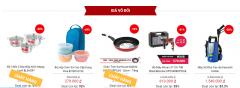 Xả hàng đợt Tết tại Tiki.vn giảm 50% đồ dùng nhà bếp