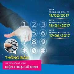 Mã Vùng Số Điện Thoại Cố Định Ở Tỉnh, Thành Phố Tại Việt Nam Từ 1/3/2015