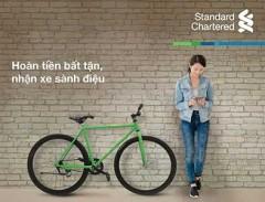 Hướng dẫn mở thẻ tín dụng Standard Chartered (Tặng xe đạp thể thao) miễn phí