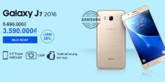 Giảm giá đặc biệt Samsung Galaxy J7 giá chỉ 3.790.000đ( giảm 37% so với giá gốc)