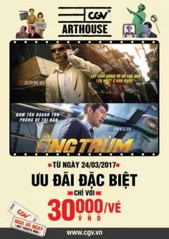 CGV khuyến mãi giá vé phim Ông Trùm chỉ 30.000đ