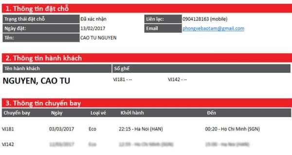 Yêu cầu đổi giờ bay miễn phí khi đi VietJetAir (không lo bị delay nữa)