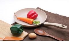 Rẻ hơn thị trường 100k, mua ngay chảo vân đá bếp từ 26cm Charm Happy Cook CHP-26 trên Adayroi