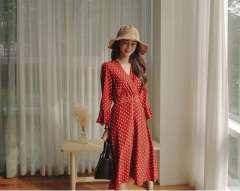 Hóa thân thành quý cô cùng đầm xòe phong cách vintage giảm 50%