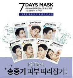 Bộ 4 mặt nạ 7 ngày Song Joong Ki hành trình làm đẹp đơn giản mà hiệu quả