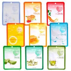 Combo 9 mặt nạ dưỡng ẩm sáng da Cure chỉ 92k chiết xuất tự nhiên an toàn cho da