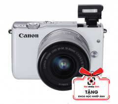 Máy ảnh Canon M10 KIT 15-45mm sale 33% giá 6.990.000 ₫ ( tặng khóa học nhiếp ảnh)