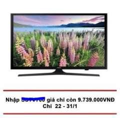 Mã giảm giá 700k Tivi Samsung 49inch Model UA49J5200AK (Đen) chỉ còn 9.739.000đ