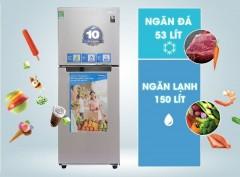 Tặng mã giảm giá 1 triệu + bàn ủi Philips khi mua tủ lạnh Digital Inverter Samsung RT20HAR8DSA/SV (203L)