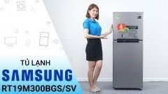Chỉ với 4.559.000đ là bạn có thể hốt ngay tủ lạnh Samsung RT19M300BGS/SV, 216 lít