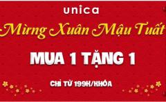 [Unica] Chỉ 199k mua 1 khóa tặng 1 khóa miễn phí cực hot
