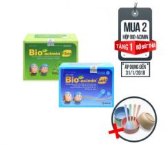 Mua combo 2 hộp Bio-acimin 318k tặng 01 bộ bát thìa lúa mạch