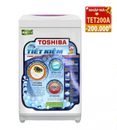 Code giảm 200k máy giặt lồng đứng Toshiba A800SV 7kg giá chỉ 3.619.000đ