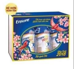 Hộp quà tết 6 hộp sữa Ensure Gold Vigor 237ml giá chỉ 227k( tiết kiệm 31%)