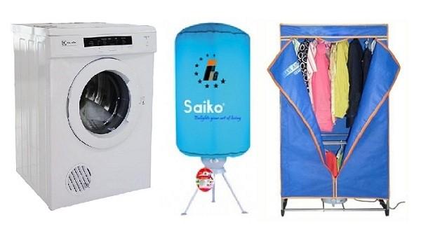 Vài lưu ý khi mua máy sấy quần áo cho các bạn chưa có kinh nghiệm