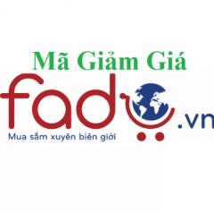 Mã giảm giá Fado khuyến mãi mua hàng từ Mỹ về Việt Nam tháng 2/2020