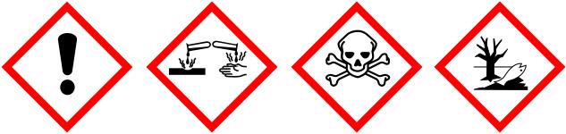 Biển cảnh báo nguy hiểm khí amoniac