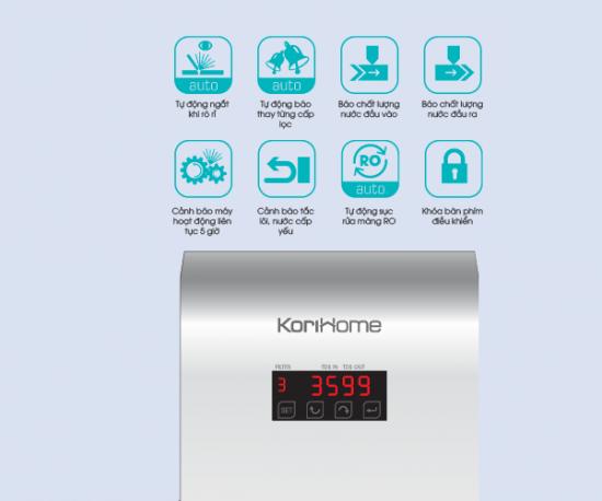 Máy Lọc Nước Korihome RO WPK606IF