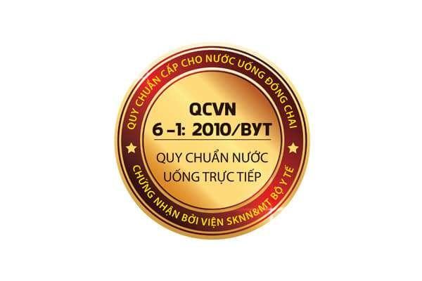 Giấy Chứng Nhận QCVN về nước uống trực tiếp