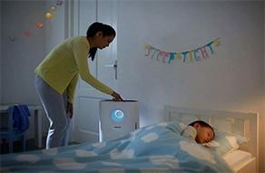 Ngủ ngon hơn nhờ dùng máy lọc không khí trong phòng ngủ !