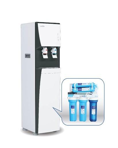 Máy lọc nước nóng lạnh Karofi mang đến dòng nước trong lành cho mọi người