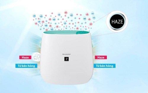 Chế độ Haze lọc không khí một cách thông minh